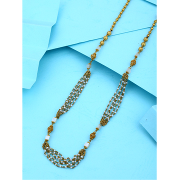 22KT Gold Small Design Mala For Ladies