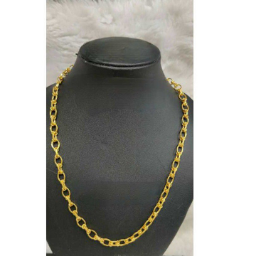 22k Fancy Gold Gents Indo Chain G-5619