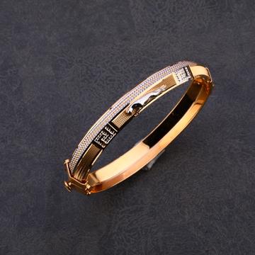 916 Gold Stylish Kada MPLKB44