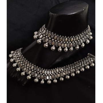 925 Pure Silver Antique Payal Handmade PO-208-21