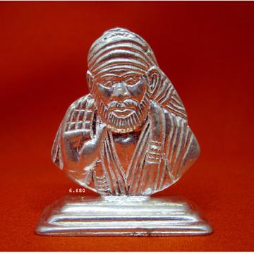 Silver Shree Sai Baba Statue(Murti) MRT