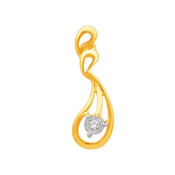18k gold real diamond fancy earring mga - rde008