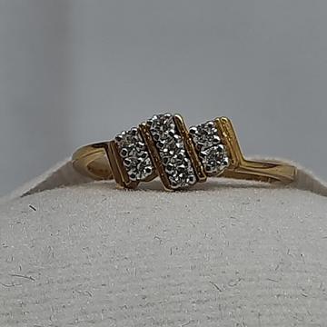 DIAMONDS RING IN 14K GOLD by Shri Datta Jewel