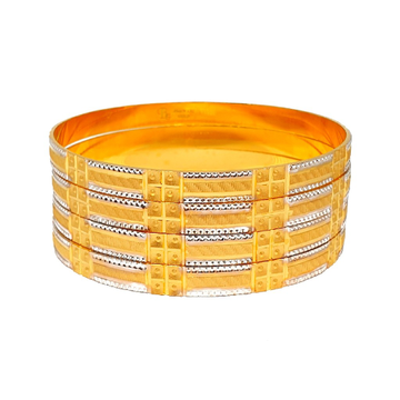 One Gram Gold Forming Fancy Bangles MGA - BGE0453