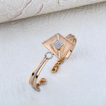 Rose Gold 18K Daily Wear Ladies Kada-RLKB20
