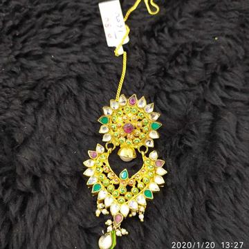 Beautiful Kundan And Golden Tikka#983
