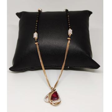 22 carat rose gold classical ladies mangalsutra RH...