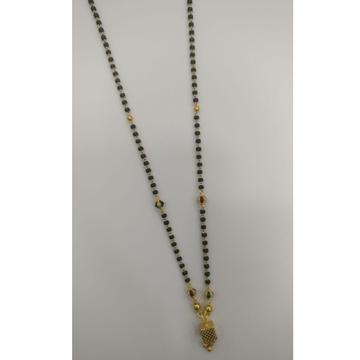 22 carat gold fancy ladies mangalsutra RH-LM941