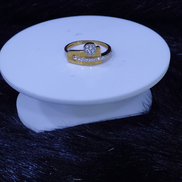 22KT/916 Yellow Gold Thea Ring For Women