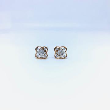 FANCY REAL DIAMOND EARRINGS FOR LADIES by