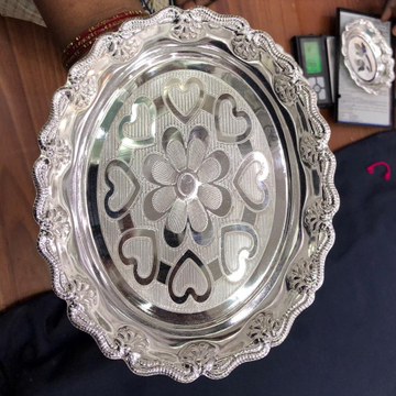 silver tray BJ ST-001 by