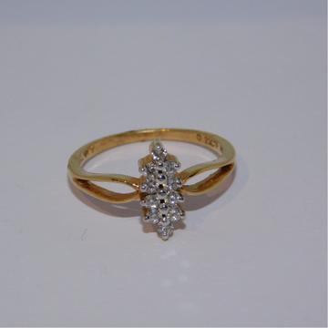 18K gold diamond ring agj-lr-15