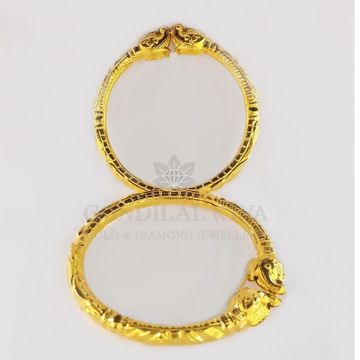 18kt gold bangle gbg66