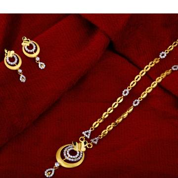 22kt Gold Fancy  Ladies   Chain Necklace CN26