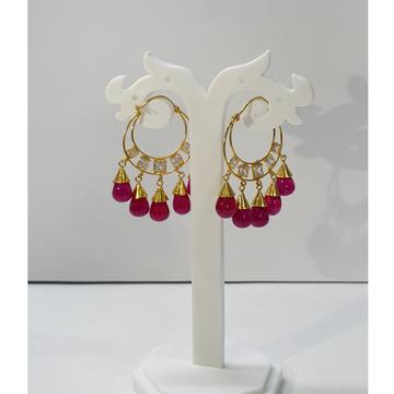 18k gold earings by