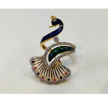 22k Ladies Fancy Peacock Ring R-15058
