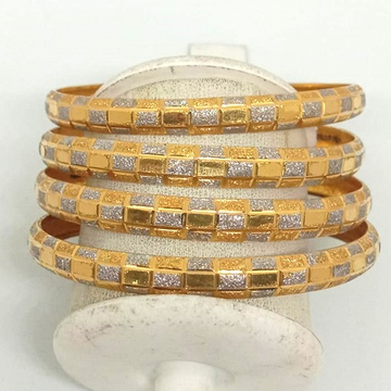 22KT Gold Fancy Bangles For Women