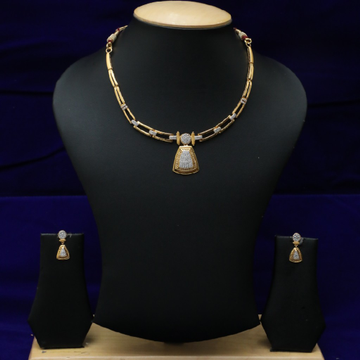 22kt Necklace Set CZS0028