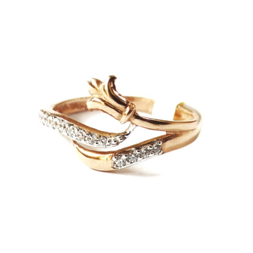 18k rose gold fancy ring mga - rgr0040