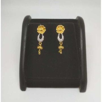22 K Gold Fancy Earring. NJ-E0938