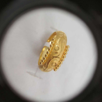 22 K Gold Hollow Ring NJ-R071