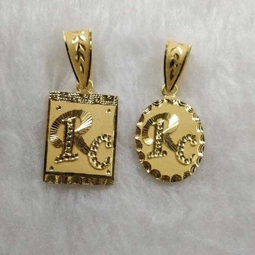 22KT Gold Latest Designer Pendant