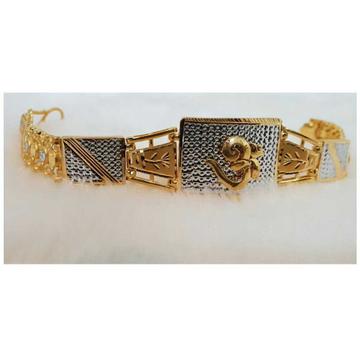 22k Gents Fancy Gold Om Lucky G-9865