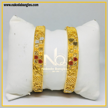 916 Gold Calcutty Bangles NB - 444