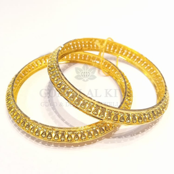 20kt gold bangle gbg46 by