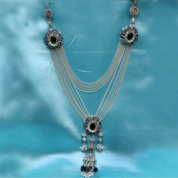 925 Silver Designer Latkan Double Hook Juda PJ-J004