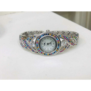 92.5 Sterling Silver Morden Look Watch Ms-2878