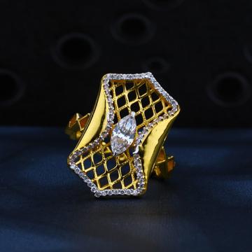 916 Gold Designer Ring LR08