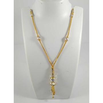 22 K Gold Fancy Pendant Chain NJ-P0111