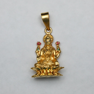 916 Gold Laxmi Pendant ML-P004