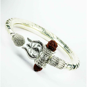 New 925 Silver Bahubali Gents Kada