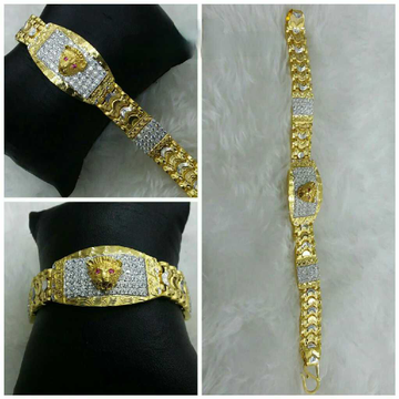 22k Gents Fancy Gold Lion Lucky G-9856