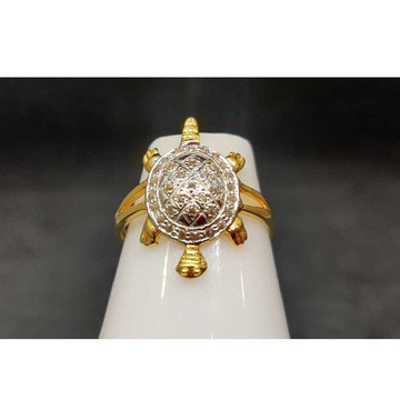 22k Ladies Fancy Tortoise Ring Lr-24803