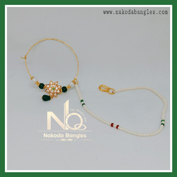 916 Gold Antique Nath NB-271