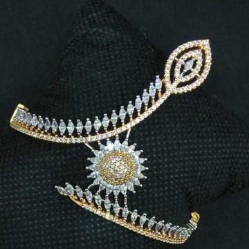 Rose polish designed 1gram ladies bracelet by