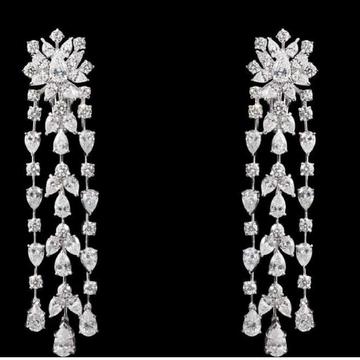 Diamonds Ear HAngings JSJ0020