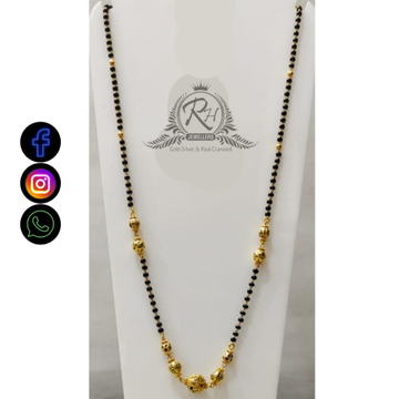 22 carat gold classical ladies mangalsutra RH-LM486