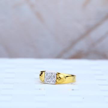 916 Gold Cz Baby Ring-KR57