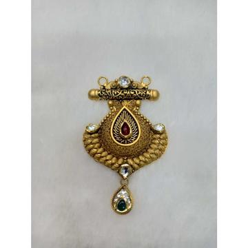 916 Gold Antique Colorful Mangalsutra Pendant