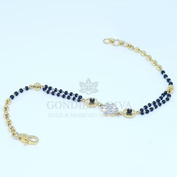 22kt gold bracelet lgbrhm15