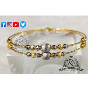 22 carat gold antic ladies kada RH-KD402
