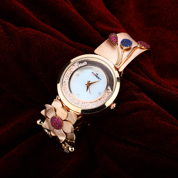 Rose Gold Cz Watch-RLW31