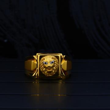 22kt Gold Hallmark ring MPR64