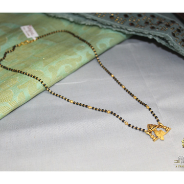 916 gold antique mangalsutra by Simandhar Jewellers