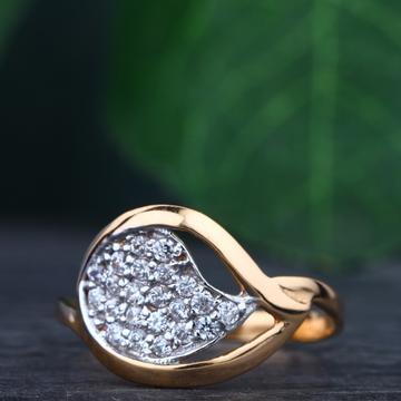 916 Gold Hallmark Modern Ring