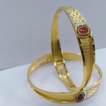 22KT/ 916 Gold fancy Bridal 2-in-1 Cooper kadli fo... by